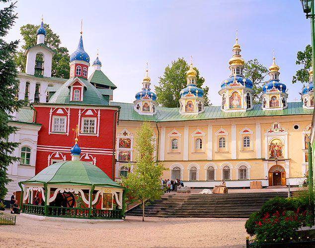 Pskov & Pechory, Russia