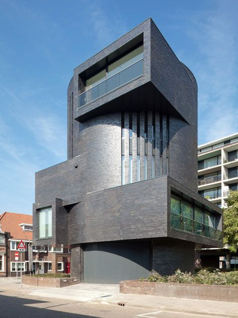 What do you think of this residential #tower in the #Netherlands that really stands out from its surroundings?