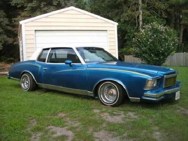 Miami Lowriders This 1979 Monte Carlo Is A Well Done Lowrider