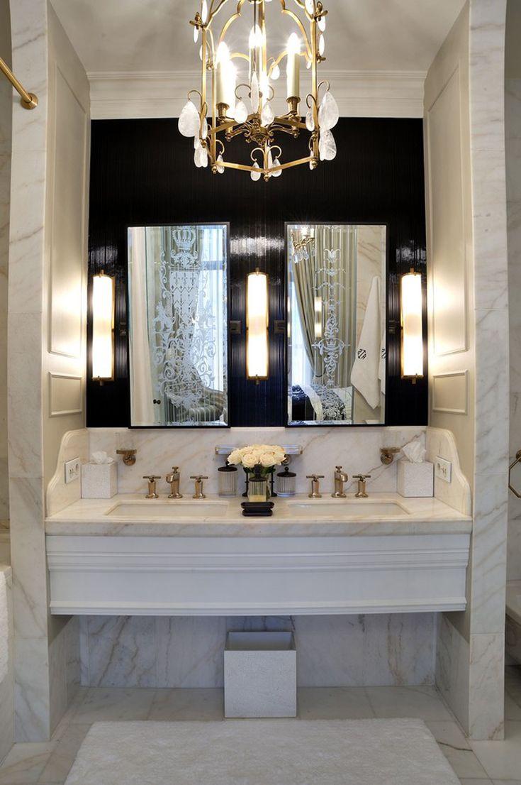 1000 id es sur le th me lavabos doubles sur pinterest for Salle de bain orientale luxe