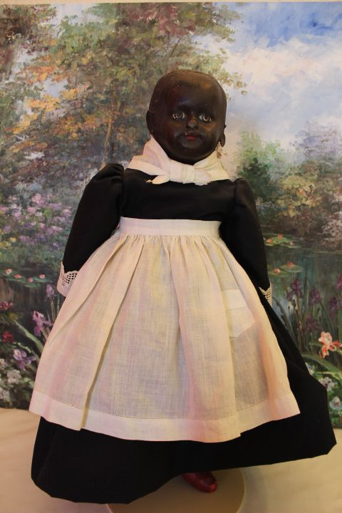 Rare Black Ella Smith Alabama Baby Doll, featured in Book! Rare  Antique Cloth Doll, Painted face!