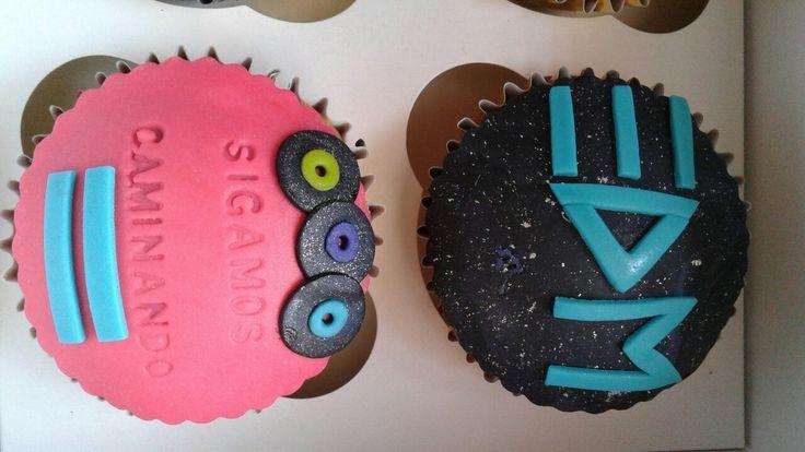 edm ESM music cupcakes
