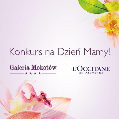 Zapraszamy do udziału w konkursie L'Occitane i Galerii Mokotów! Odwiedź Galerię Mokotów i znajdź nasze drzewo L'Occitane! Zrób sobie pod nim zdjęcie, a fotkę wrzuć na https://www.facebook.com/events/880727021954194 i napisz swojej Mamie życzenia prosto z serca! #galeriamokotow #shopping #zakupy #sale #Galmok #contest