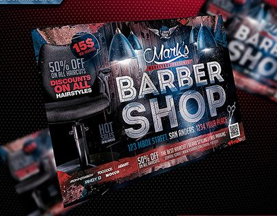 "Check out new work on my @Behance portfolio: ""Barber Shop Flyer"" http://be.net/gallery/37139221/Barber-Shop-Flyer"