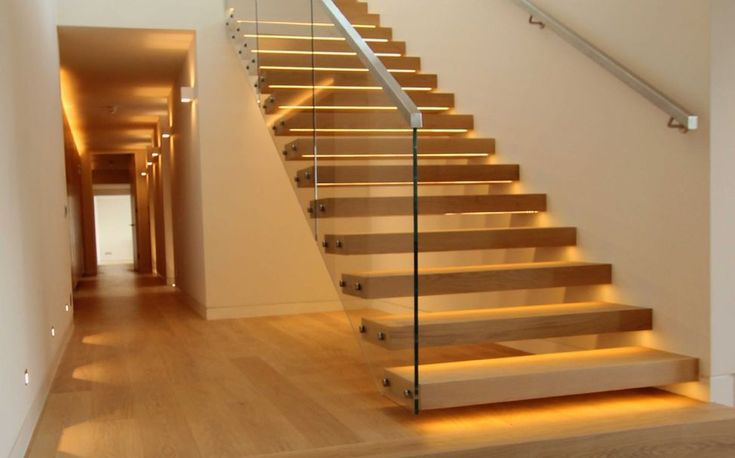 Contemporary floating staircase stairs pinned by stairs pinterest glasses - Staircase design images ...
