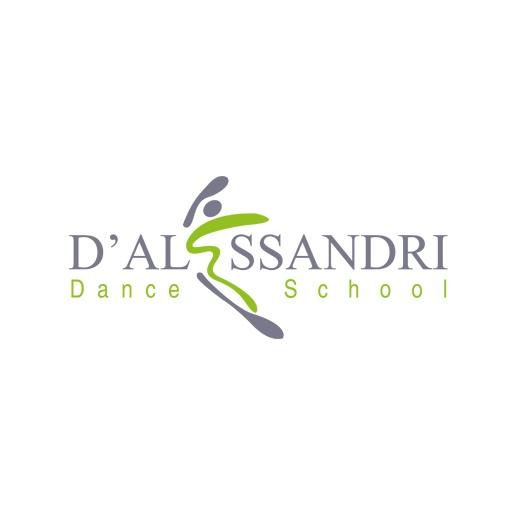 D'Alessandri Dance School  Logo Design by creazione-loghi.it