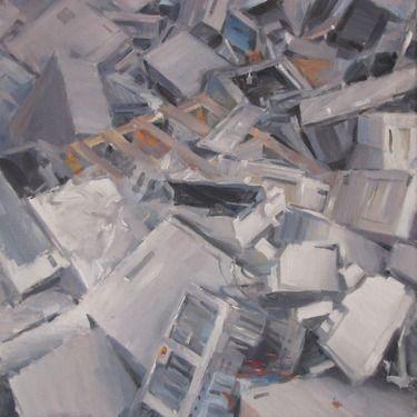 "Saatchi Online Artist Andrea Mancini; Painting, ""#1508 computers"" #art"
