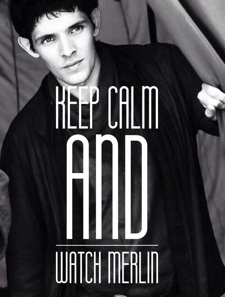 Keep calm and Watch Merlin wallpaper.