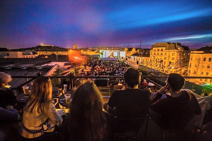 Corvin Terrace, When the summer season is on, the Corvin Club hosts regular events by Budapest Rooftop Cinema from Hungarian classics, movie premiers, cult classics and French cinema.