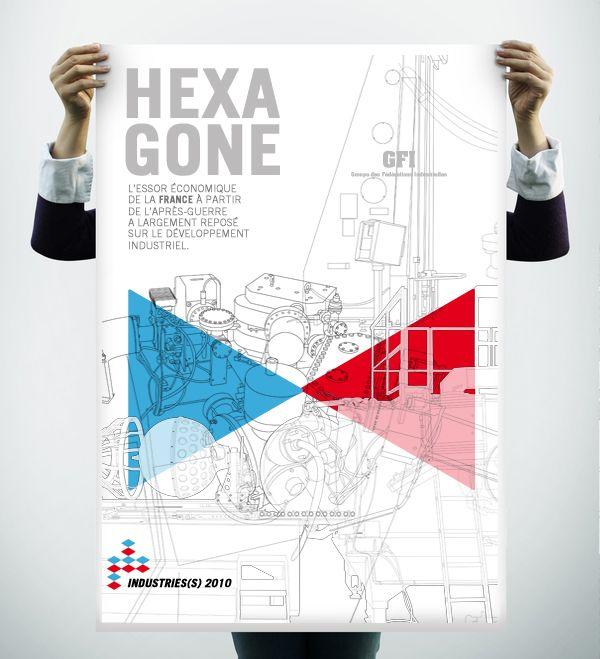 Hexagone Rapport Annuel 2010 / GFI Industries Française Illustration / Edition