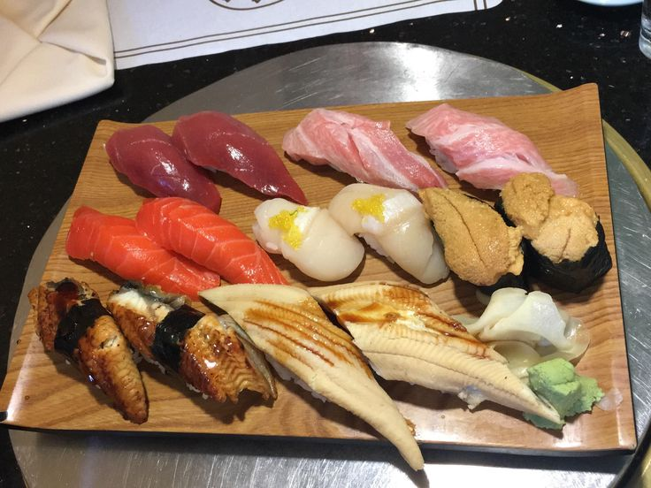 My birthday sushi at Ginza - Seattle WA #sushi #food #foodporn #japanese #Japan #dinner #sashimi #yummy #foodie #lunch #yum