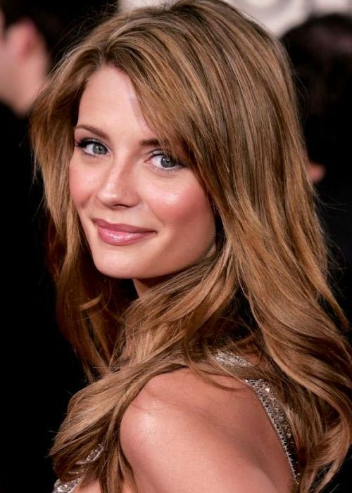 50 Best Brown Hair Color Ideas for 2014 | herinterest.com35. Mischa Barton Brown Hair Color Idea: Light sandy brown