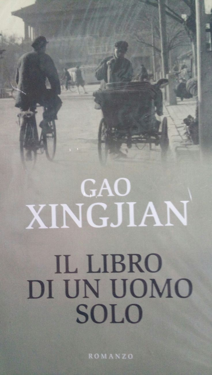"""""""Il libro di un uomo solo"""" di Gao Xingjian ci trasporta nella solitudine di un uomo a confronto col totalitarismo della dittatura di Mao Zedong.Una confessione sincera e appassionata sulla fragilita' di un uomo alla ricerca di una liberta' artistica e intellettuale..."""