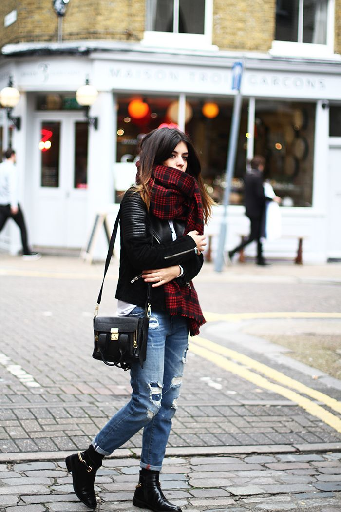 Zara jeans scarf, Youtakeme T-shirt, Mango jacket, Jeffrey Campbell boots, 3.1 Phillip Lim bag.