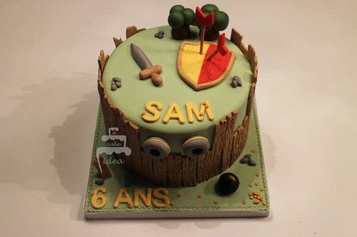 Clash of clan cake A Cake Idea