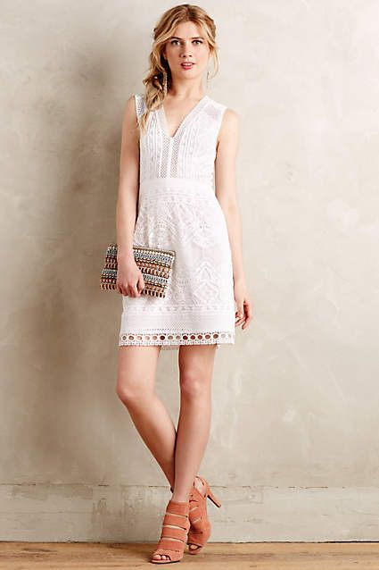 Modena Lace Dress - anthropologie.com