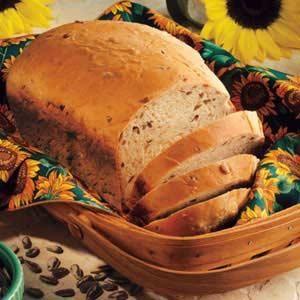 BREADS : Sunflower Oatmeal Bread Recipe Breads Recipes