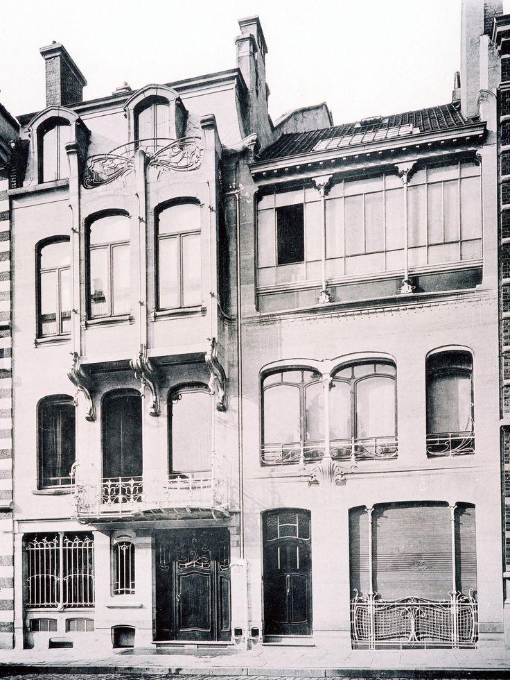 Saint-Gilles - Ancienne maison et atelier de Victor Horta. Musée Horta - Rue Américaine 23-25 - HORTA Victor