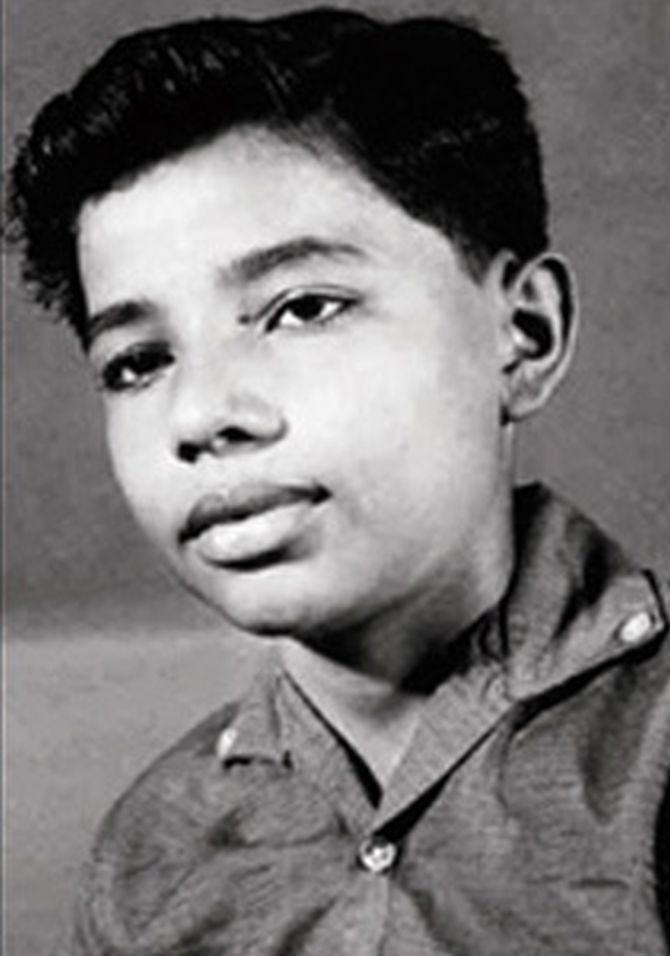 Narendra Modi - Childhood Photo