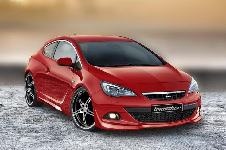Новая Opel Astra GTC от Irmscher