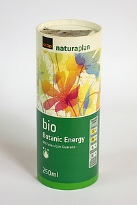 Organic Energy Drink -in a paperboard container PD