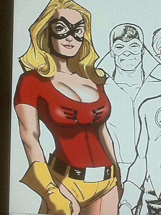Fan poster of Jesse Quick   Female speedster, Speedster