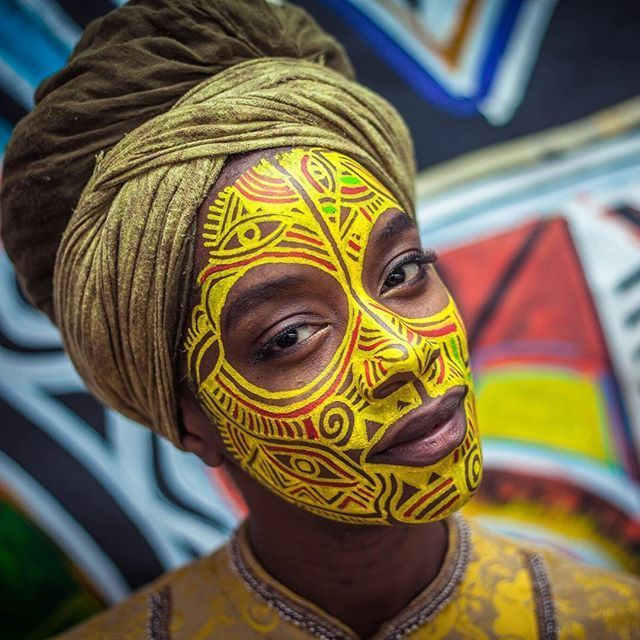 19 best African Body Paint | Traditional African Body Art ...