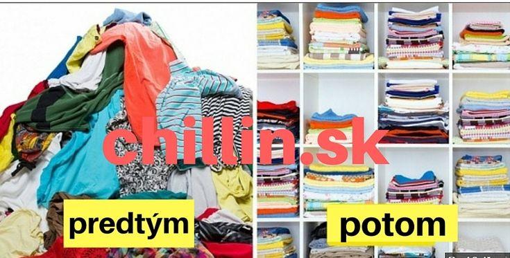 Ako si poskladať oblečenie : od bikín až po ponožky, aj všetko medzi tým