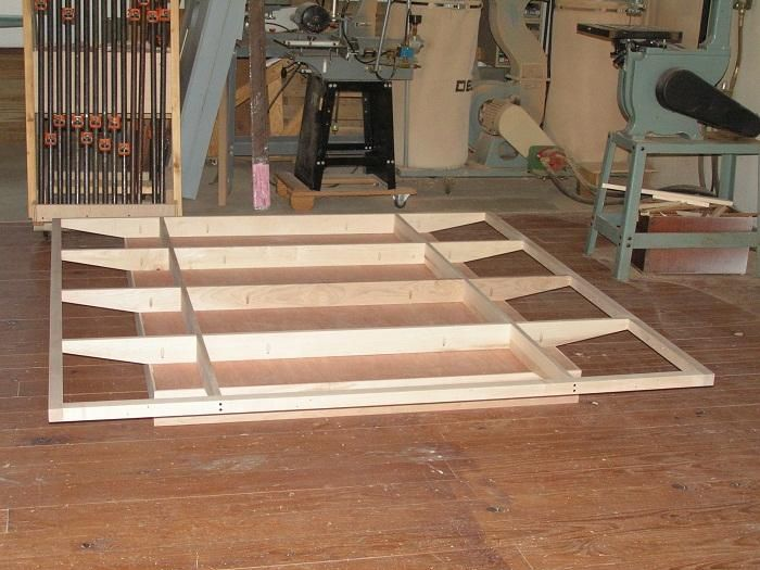 Floating Bed Frames Constructed Woodwork Floating Bed