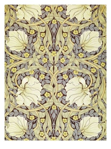 Pimpernell Wallpaper Design by William Morris Our decals make excellent seamless wallpapers!