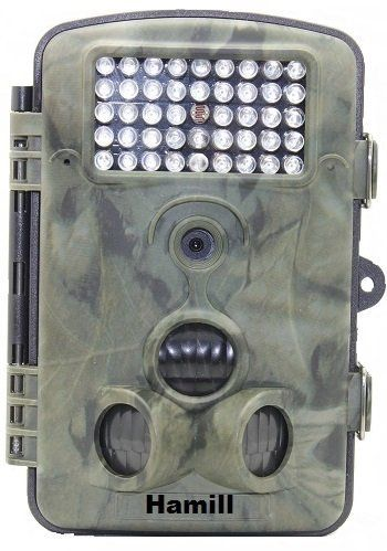 "Hamill Game and Trail Hunting Camera 12MP 1080P HD With Time Lapse 65ft 120° Wide Angle Infrared Night Vision 42pcs IR LEDs 2.4"" LCD Screen Scouting Camera Digital Surveillance Camera"