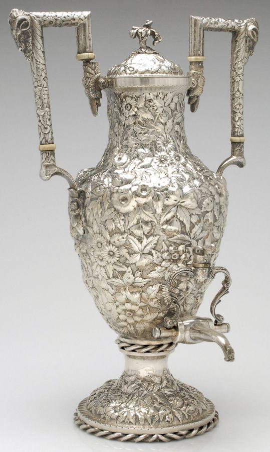 594 besten silber silver bilder auf pinterest teekannen teekr nzchen und antike. Black Bedroom Furniture Sets. Home Design Ideas