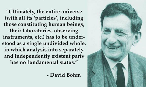 David Bohm-the grand unification theory                                                                                                                                                                                 More