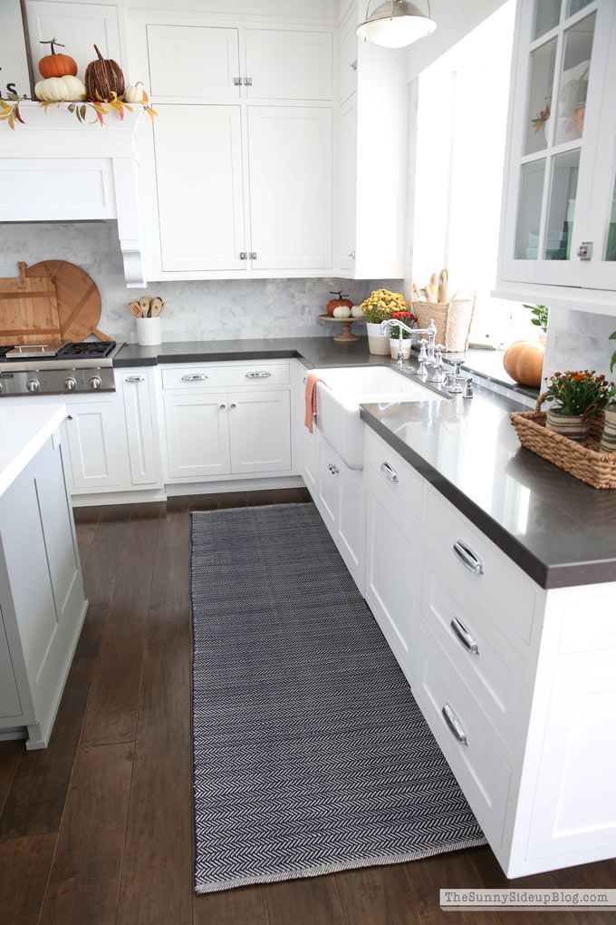 Fall Kitchen Decor And New Rugs With