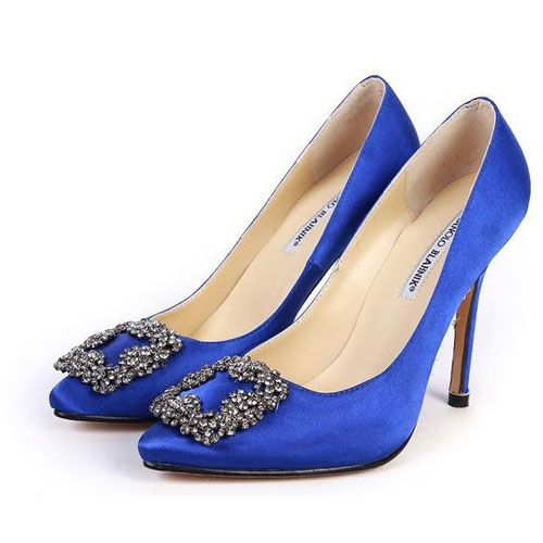 I'm in love...Wedding Shoes,  Geta, Blue Satin, Satin Pump, Manolo Blahnik, Blue Shoes, Carrie Bradshaw, Something Blue, Blue Wedding