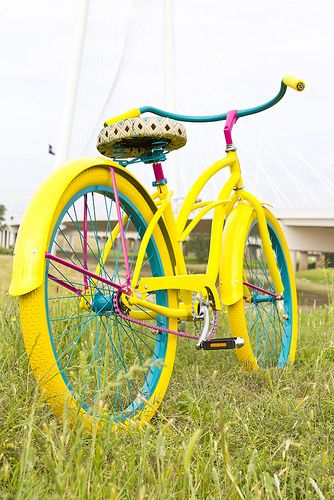 Villy Custom Luxury Fashion Bicycle www.villycustoms.com  Totally want one when we get our house in town!!!!
