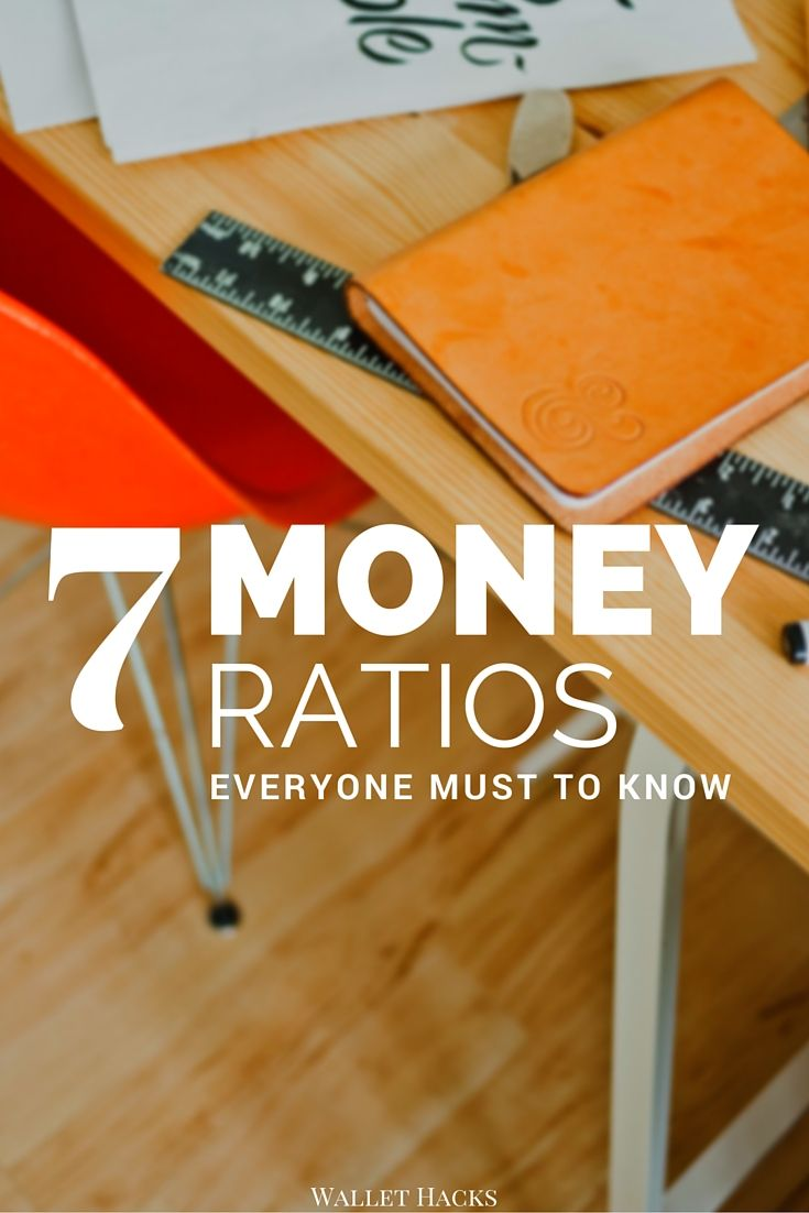 A lot of life's lessons are tied in ratios. Learn what money ratios and rules of thumb you need to keep in mind to stay on top of your money.