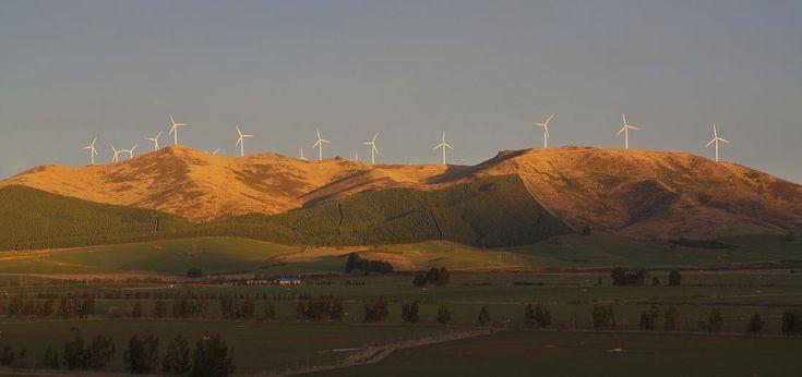 White Hill wind farm, Mossburn, New Zealand