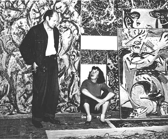 lee krasner and jackson pollock relationship trust