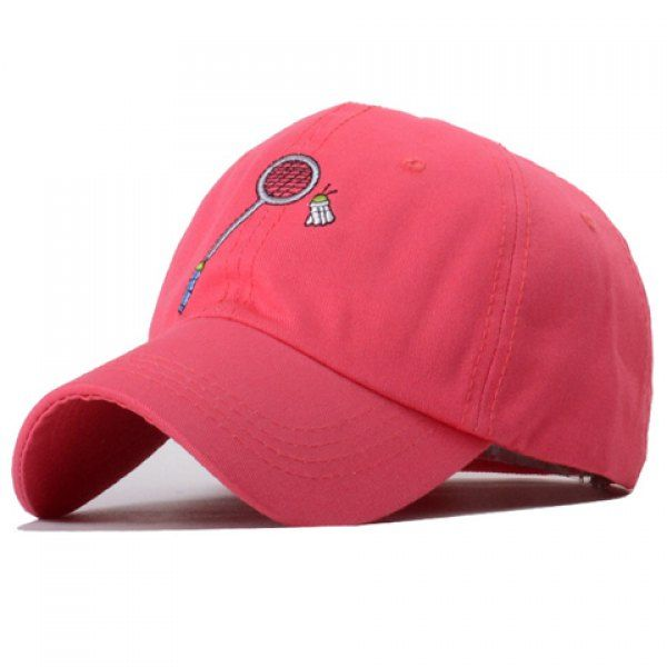 Chic Badminton and Racket Embroidery Solid Color Baseball Hat For Women #CLICK! #clothing, #shoes, #jewelry, #women, #men, #hats