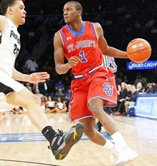 Sir'Dominic Pointer and the St. John's Red Storm will go toe-to-toe against D'Vauntes Smith-Rivera and the Georgetown Hoyas for some sports betting action at the Verizon Center on Tuesday, February 17, 2015.  http://every1bets.com/sportsbooks-favor-georgetown-hoyas-over-st-johns/  Tonight's college basketball wagering action kicks off at 7:00 PM EST and can be seen on Fox Sports online or on TV.