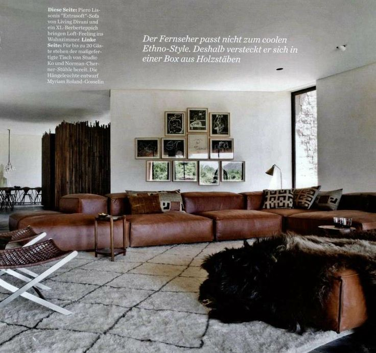 in the press Extrasoft by Piero Lissoni for Living Divani ...