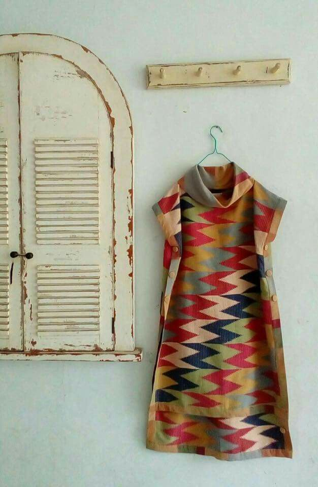 Batik/songket dress's idea