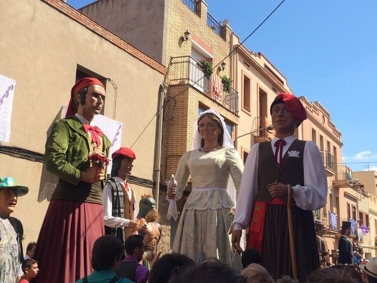 Casament Geganter a Santa Coloma de Cervelló