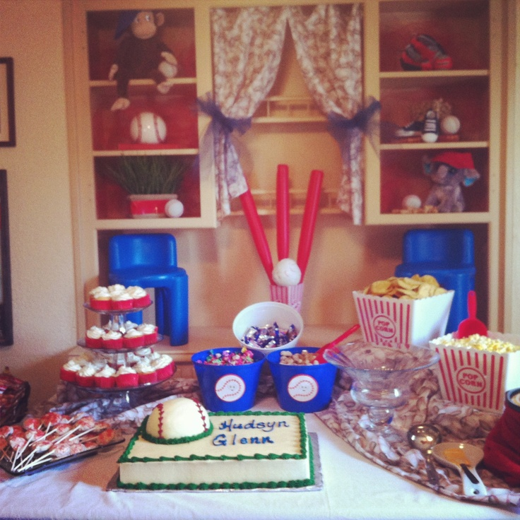126 Best Baseball Theme Baby Shower Images On Pinterest | Baseball Babies,  Baseball Birthday And Birthday Party Ideas