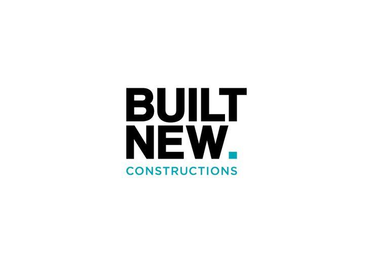 Built New Constructions logo by Fletcher Creative #Logo #Branding #Icon #Identity #Typography