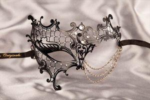 Masquerade wedding mask from justposhmasks.com;; pretty sure i'm going to collect a million masquerade masks