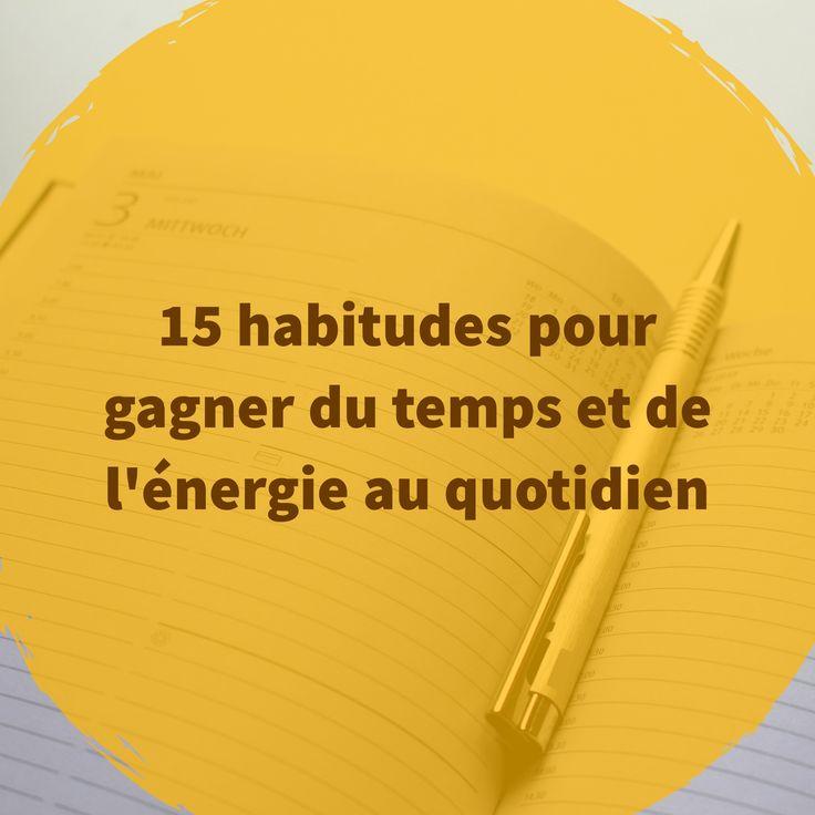 """""""S'organiser est un art : celui de gérer intelligemment son temps avec un minimum d'énergie"""" écrit Dominique Loreau dans son livre """"infiniment peu"""". Elle partage avec nous des conseils pour être efficace et parvenir à se concentrer sur l'essentiel."""