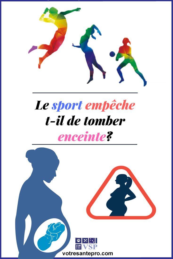 Le sport empêche t-il de tomber enceinte?
