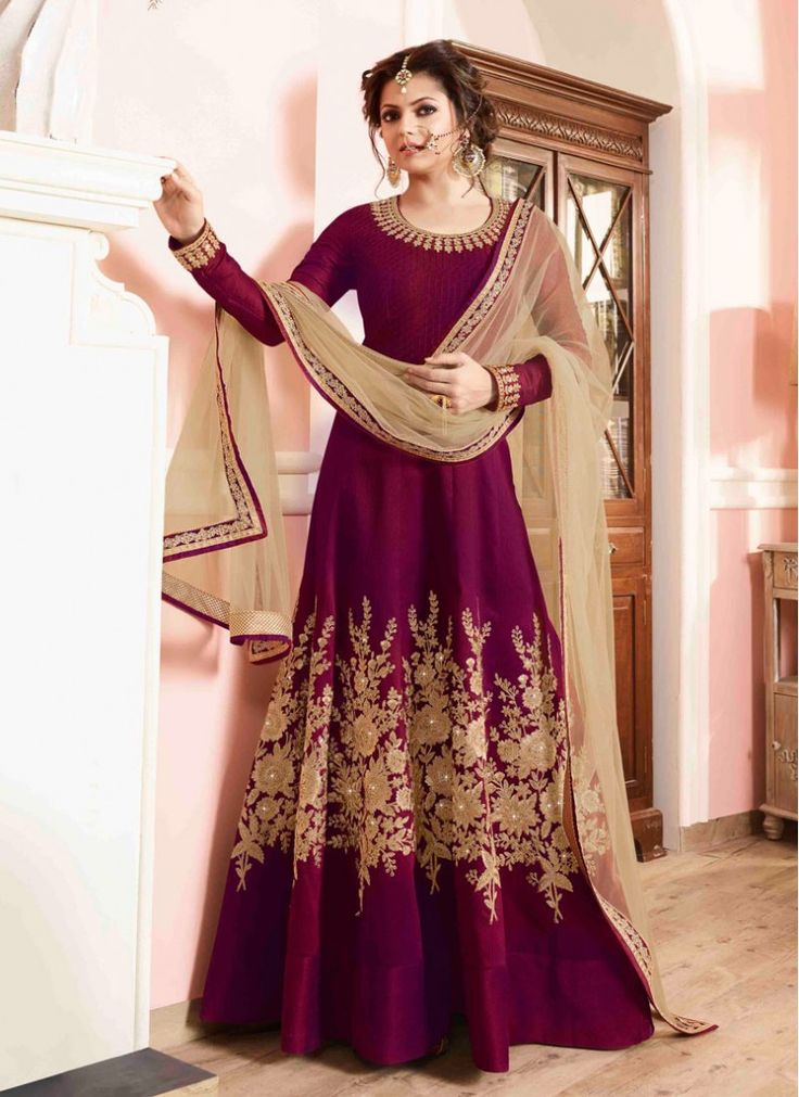 25 best ideas about floor length anarkali on pinterest for Floor length suits